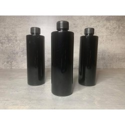 Empty bottle 250ml black
