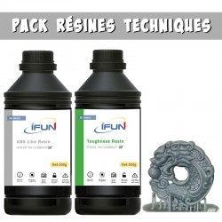 Discovery Pack technical resins 2 x 500 grs