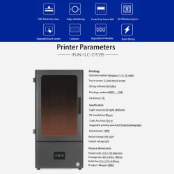 Imprimante 3D Ifun FALON PRO LCD 2K