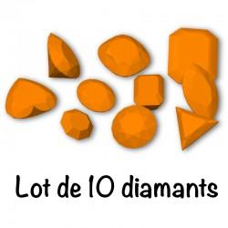 STL lot 10 diamonds