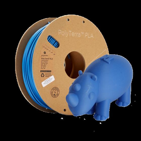PolyTerra PLA Sapphire Blue by Polymaker