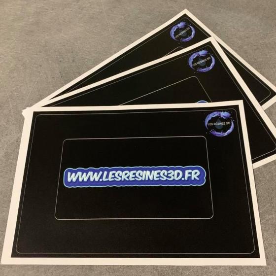 Guarnizioni adesive per schermi LCD in vinile (3 pcs)