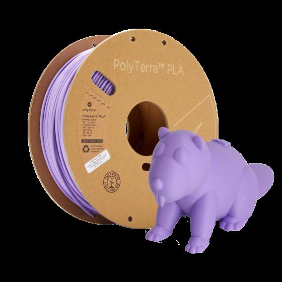 PolyTerra PLA lavender purple by Polymaker