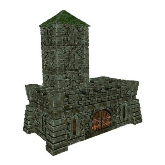 STL castle, 3 set