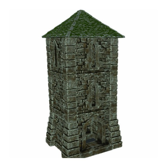 STL medieval tower